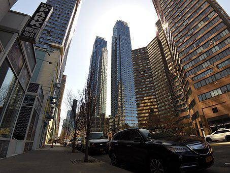 New York, Manhattan, City, Street