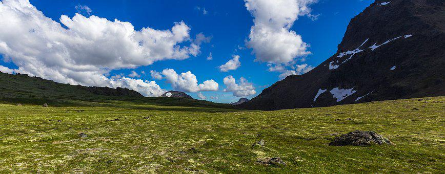 Alaska, Tundra, Nature, Landscape, Park, National
