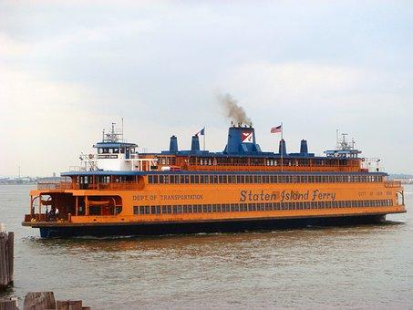 Staten Island Ferry, Ferryboat, New York City, Nyc