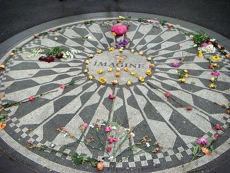 Imagine, John Lennon, New York City, Central Park