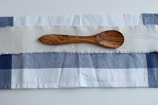 Spoon, Wooden Spoon, Old, Rustic, Wood, Wooden Cutlery