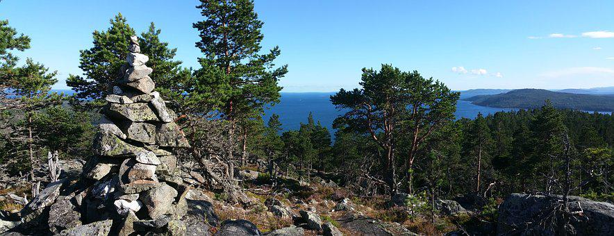 Mountain, Summer, Views, Sea, Lake, Solar