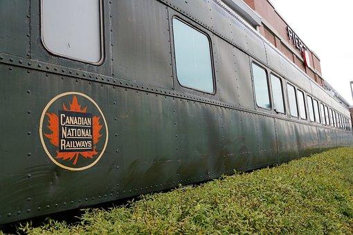 Train, Canada, Railway, Novo Scotia, Halifax