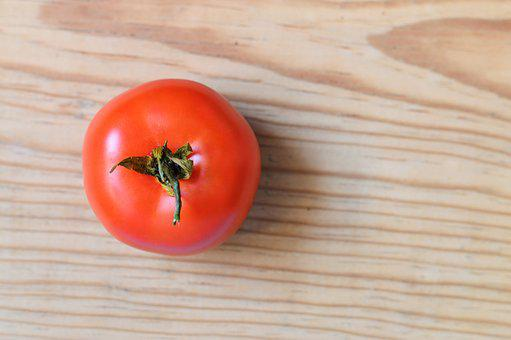 Tomato, Red, Wood, Ingredient, Raw, Kitchen, Recipe