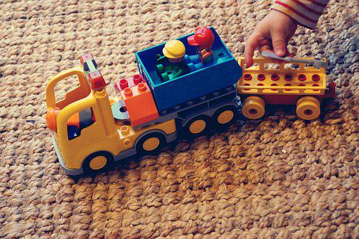 Duplo, Toys, Lego Duplo, Play, Child's Hand