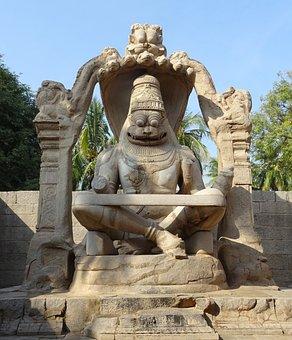 Narasimha Vigraha, Ugra Narasimha, Statue, Sculpture