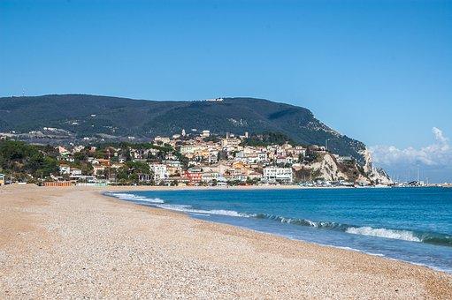 Sirolo, Monte Conero, Conero, Beach, Riva, Brands