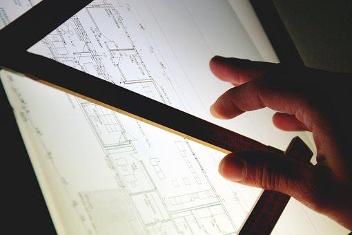 Drawing, Architect, Designer, Plan, Building Plan