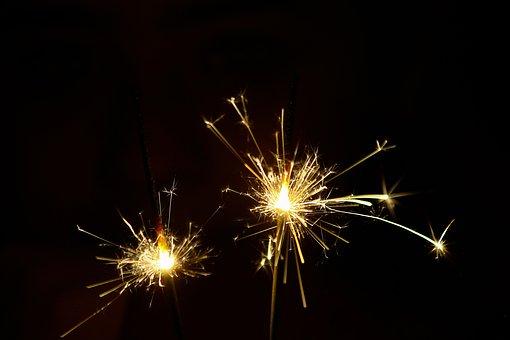Fireworks, Lights, Light, Festival, Night, Shine