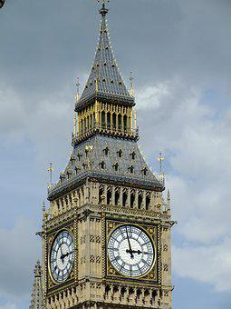 London, Big Ben, Westminster, United Kingdom, Landmark