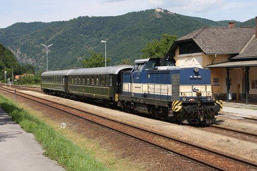 Railway, Diesel Locomotive, Wiener Local Tracks