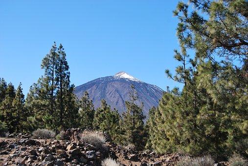 Canary Islands, Teide, Nature, Spain, Mountain