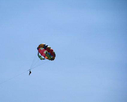 Parachute, Activity, Parasailing, Sport, Adventure