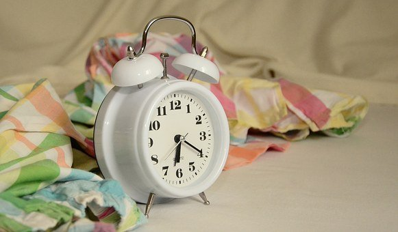 Alarm Clock, Stand Up, Morning, Bed, Arouse, Time