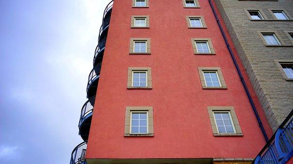 Building, Exterior, Modern Building, Glass