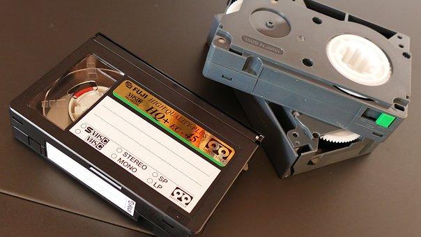 Video, Cassette, Tape, Old, Retro, Vintage, Technology