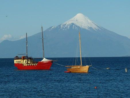 Chile, South America, Puerto Varas, Mountain, Volcano