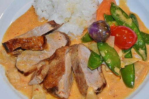 Duck Breast, Duck, Vegetables, Beans, Tomatoes, Orange