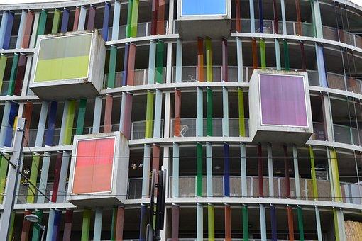 Facade, Apartment, Architecture, Building, Glass