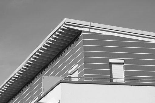 Home, Building, Architecture, Modern, Facade, Penthouse