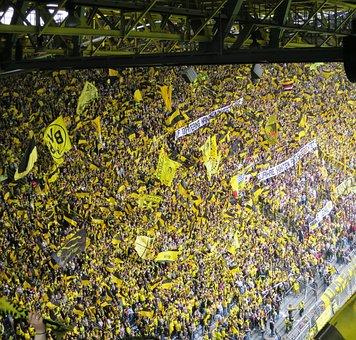 Football Fans, Football Stadium, Football, Grandstand