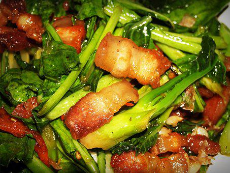 Thailand, Meal, Pepper, Baby, Fried, Green, Fat, Diet
