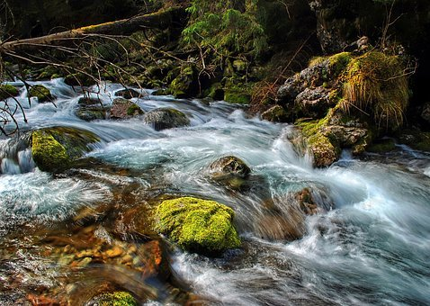 Torrent, Stream, Tatry, Mountains, Water, The Stones