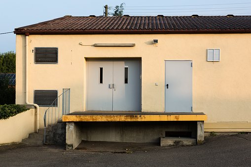Outdoor, Hall, Goal, Metal, Sill, Loading Ramp, Stairs