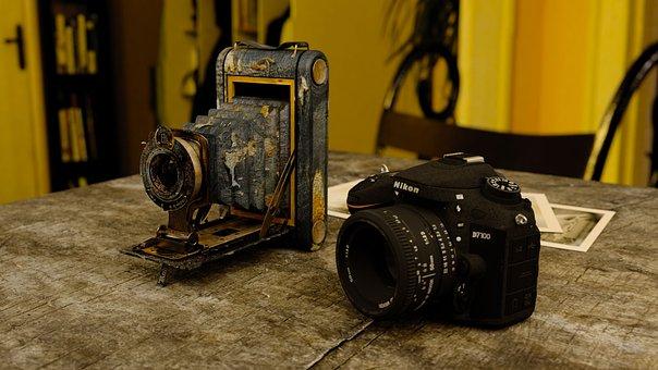 Camera, Focus, Technology, Photo, Lens, Studio