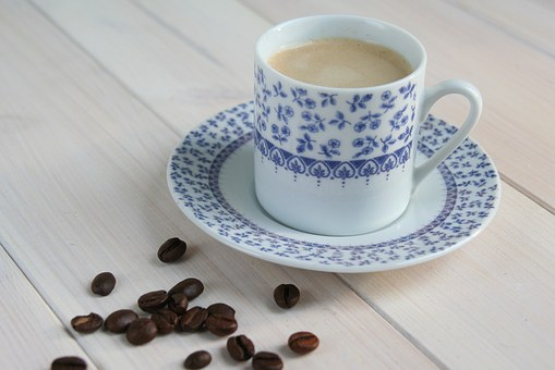 Teacup, Coffee, Dish Machine, Coffee Beans