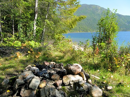 Wilderness, Campfire, Camping, Camp, Outdoor, Adventure