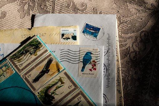 Mail, Postal, Letter, Envelope, Paper, Postage, Card