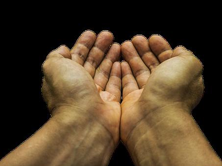 Begging, Hands, Poor, Hope, Charity, Receive, Beg