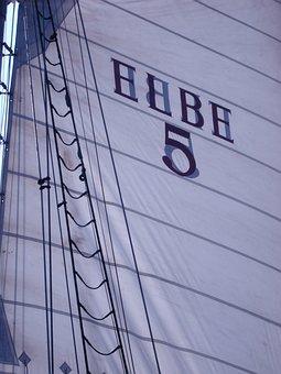 Hamburg, Sail, Elbe, Ship, Port, Sailing Vessel, Water