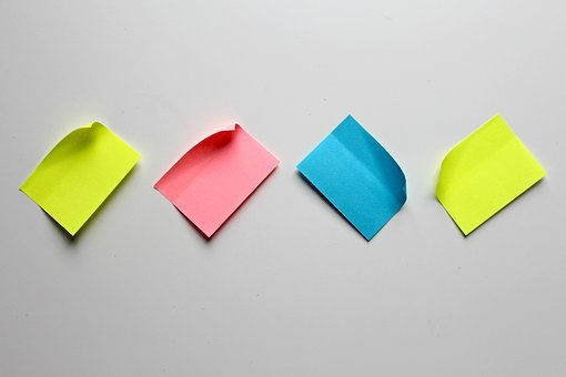 List, Sticky Notes, Note, Stickies, Notes