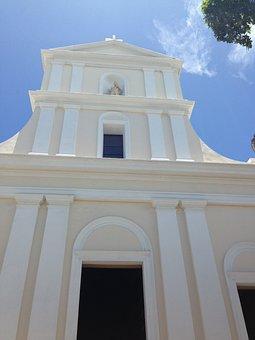 Church, San Juan, Puerto Rico, Catholic, Religion