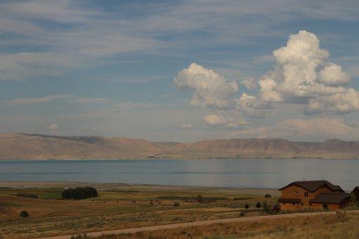 Clouds, Idaho, Fields, House, Country, Farm, Landscape