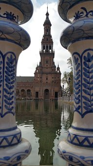 Plaza De España, Spain Square, Plaza, España, Landmark