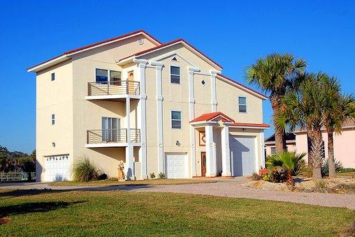Florida, Beach Home, House, Real Estate, Coastline