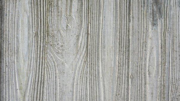 Concrete, Reprint, Wood, Relief, Texture, Structure