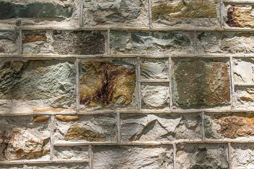 Rock, Wall, Mortar, Cement, Granite, Nature, Outdoor