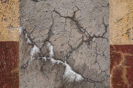 Texture, Concrete, Closeup, Stripes, Grudge, Broken