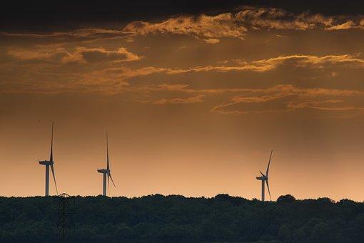 Wind, Turbine, Electricity, Wind Turbines, Sky