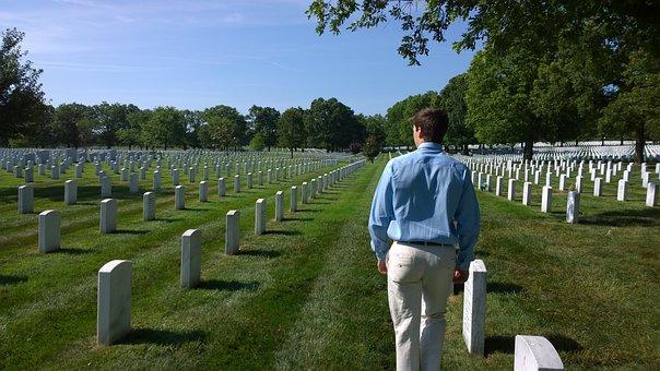 Arlington, Cemetery, Memorial, Monument, Military