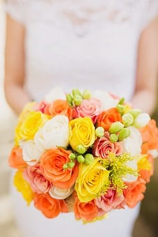 Wedding, Married, Honeymoon, Florist, Image, Autumn