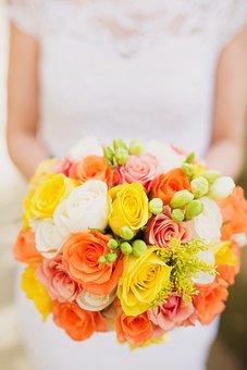 Wedding, Married, Honeymoon, Florist, Image, Autumn