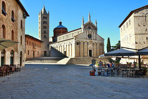 Mass Maritime, Italy, Tuscany, Cathedral Of St Cerbone