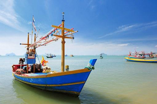 Ship, Thailand, The Island