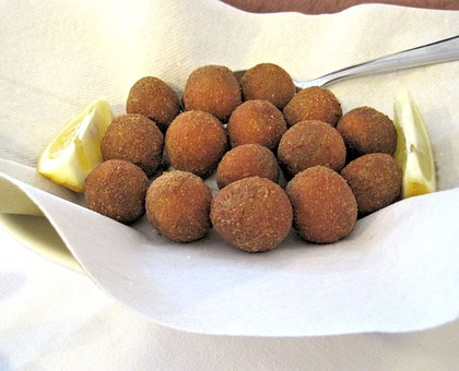 Fried Stuffed Olives, Food, Nutritional, Delicious