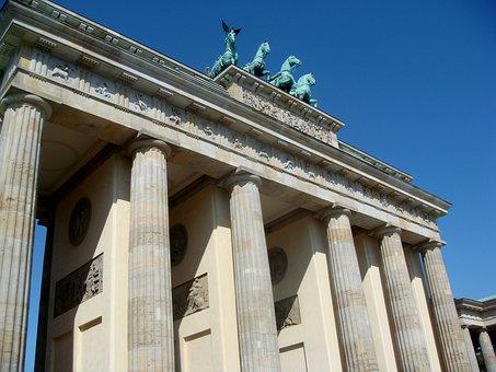 Brandenburger Tor, Berlin, Germany, Quadriga